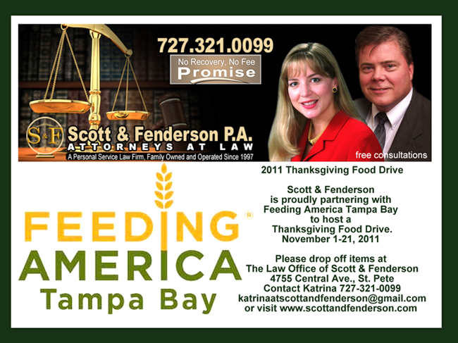 Feeding America with Scott and Fenderson